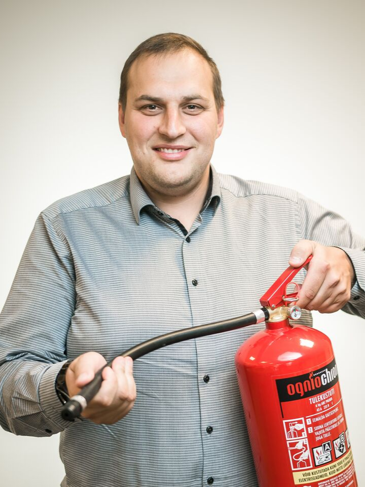 Jaan Aia, Fire Safety Specialist
